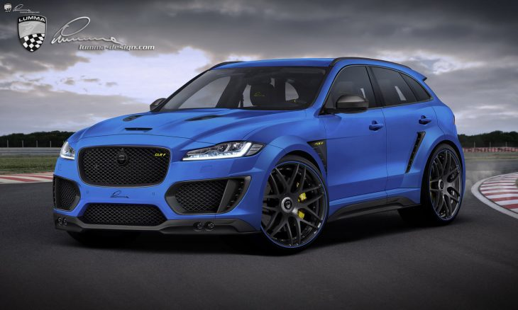 Jaguar F-Pace by Lumma